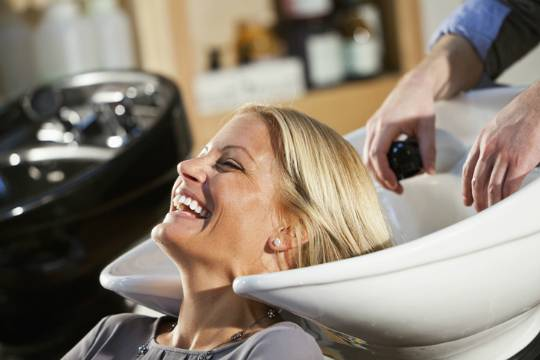 hair care after dyeing for blondes