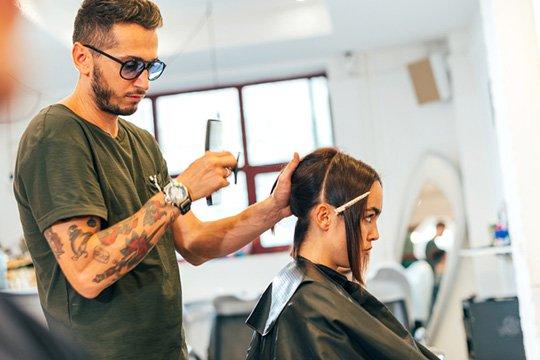 scheme for performing a rhapsody haircut