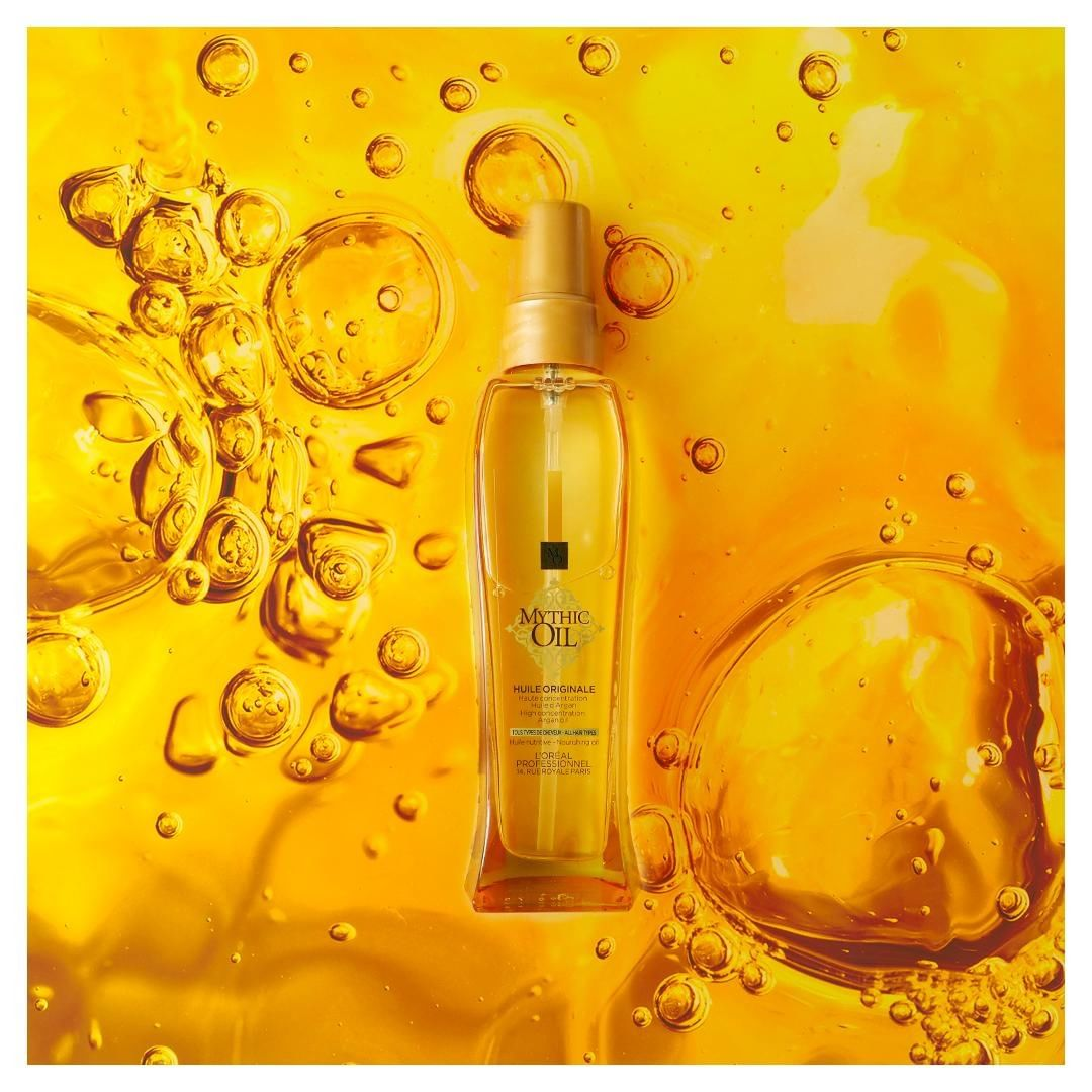 How to use a shine oil