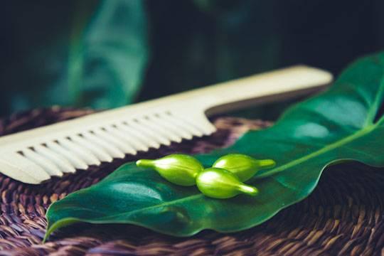 Hair oil composition