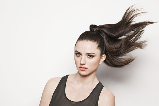 how to make a ponytail without elastic