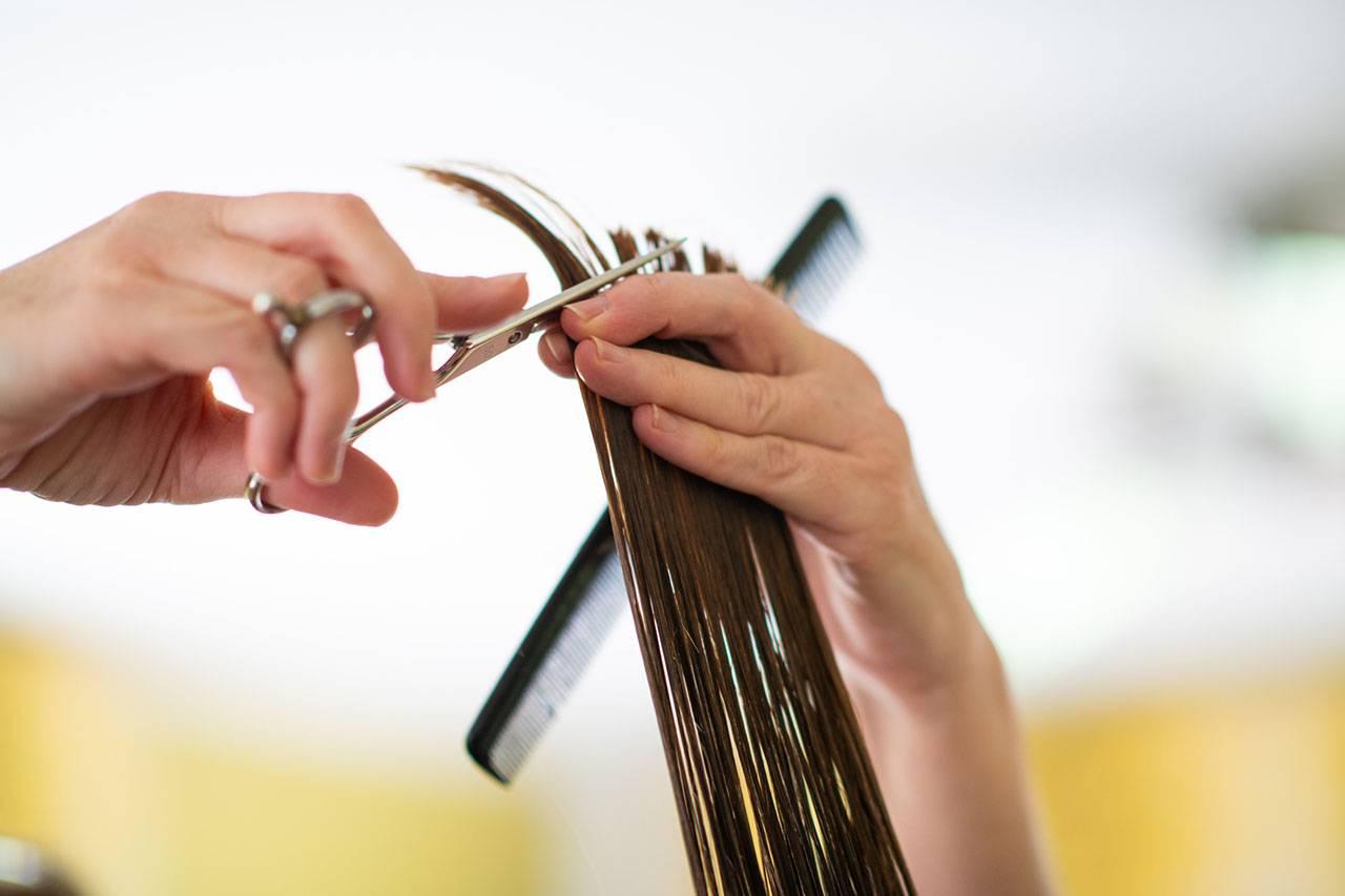 haircut technique