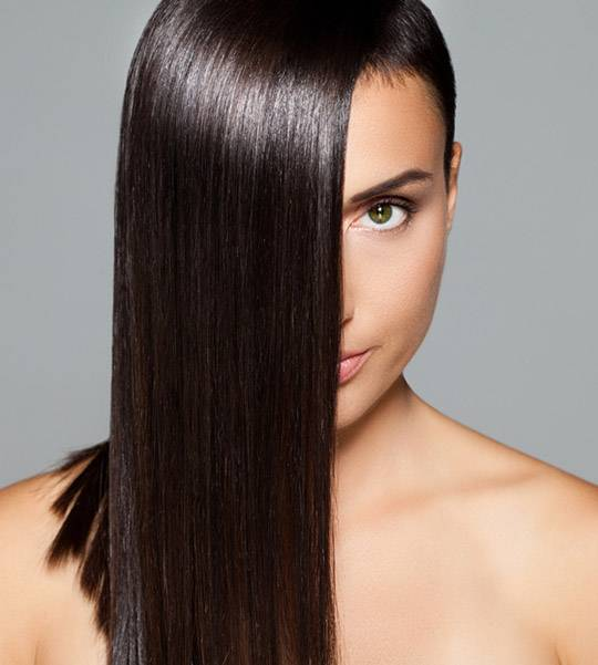 Products for smooth and shiny hair