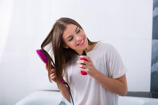 Sprays for hair shine