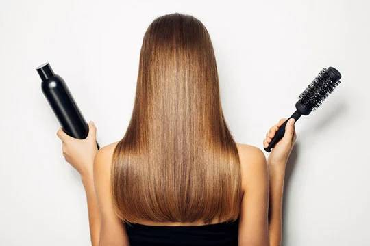 to make your hair shine