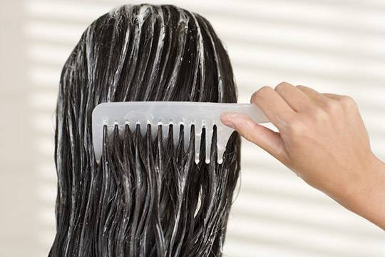 Mask for smooth and shiny hair