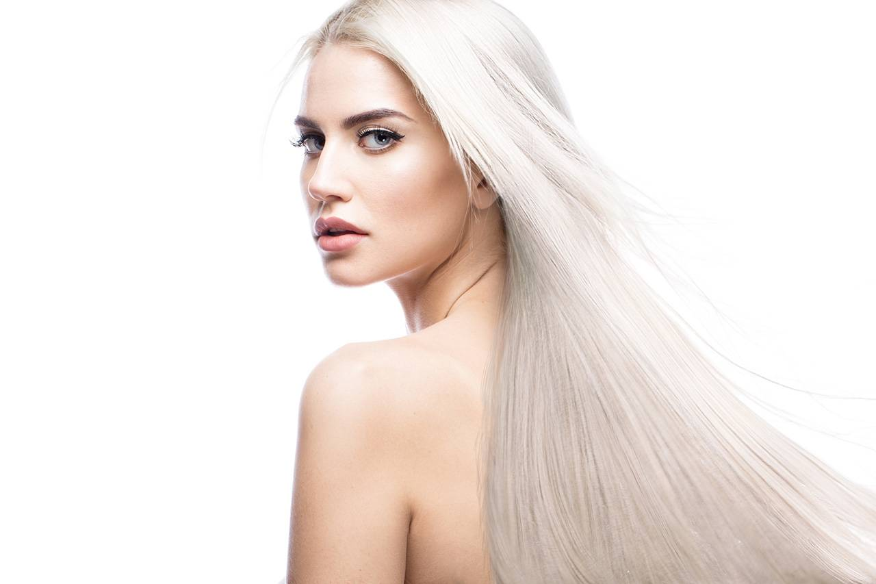 platinum blonde for a young girl
