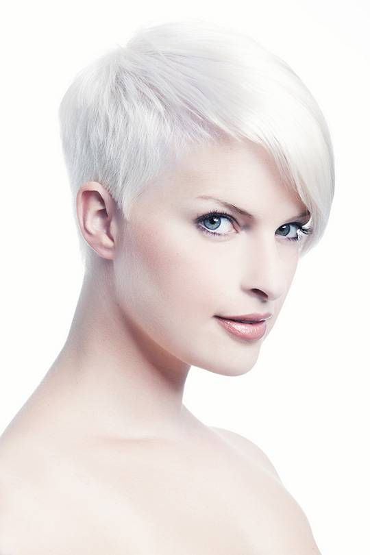 platinum blonde and skin tone
