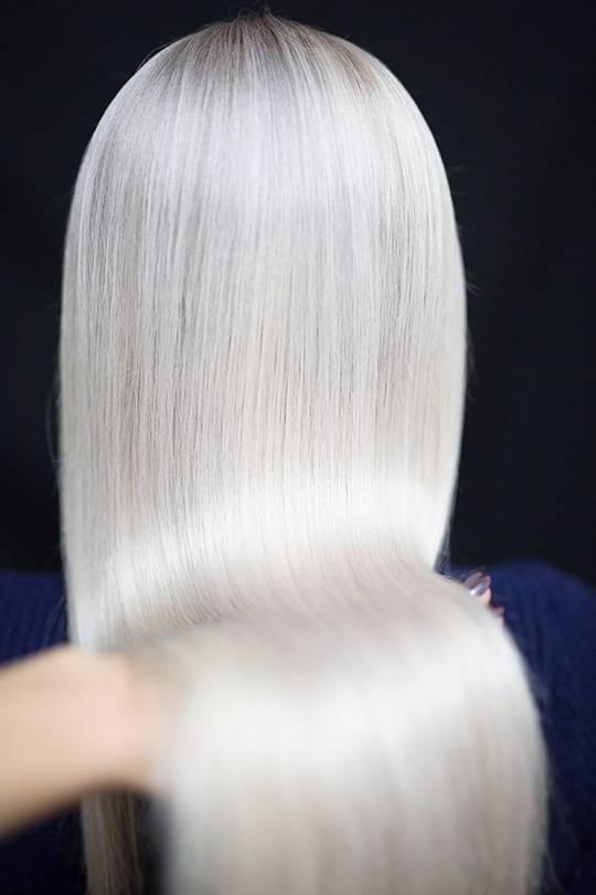 platinum blond paint