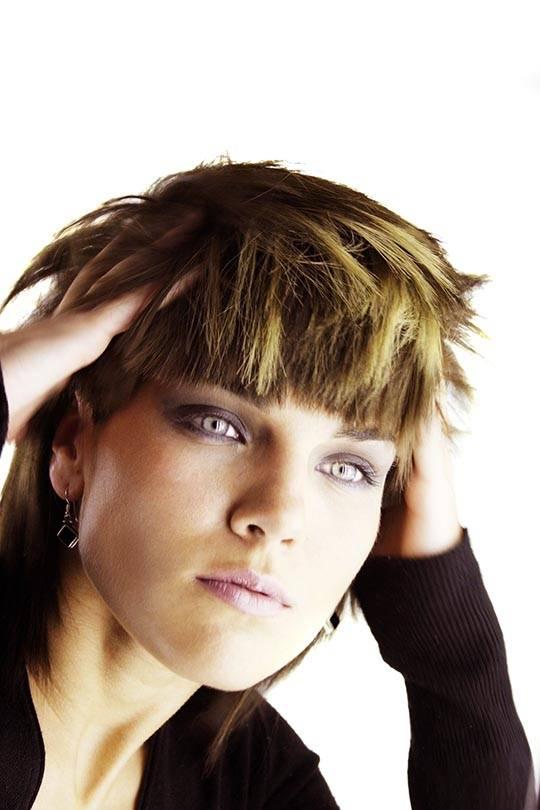 extravagant haircut