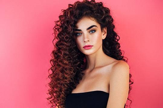 Features of cognac hair color