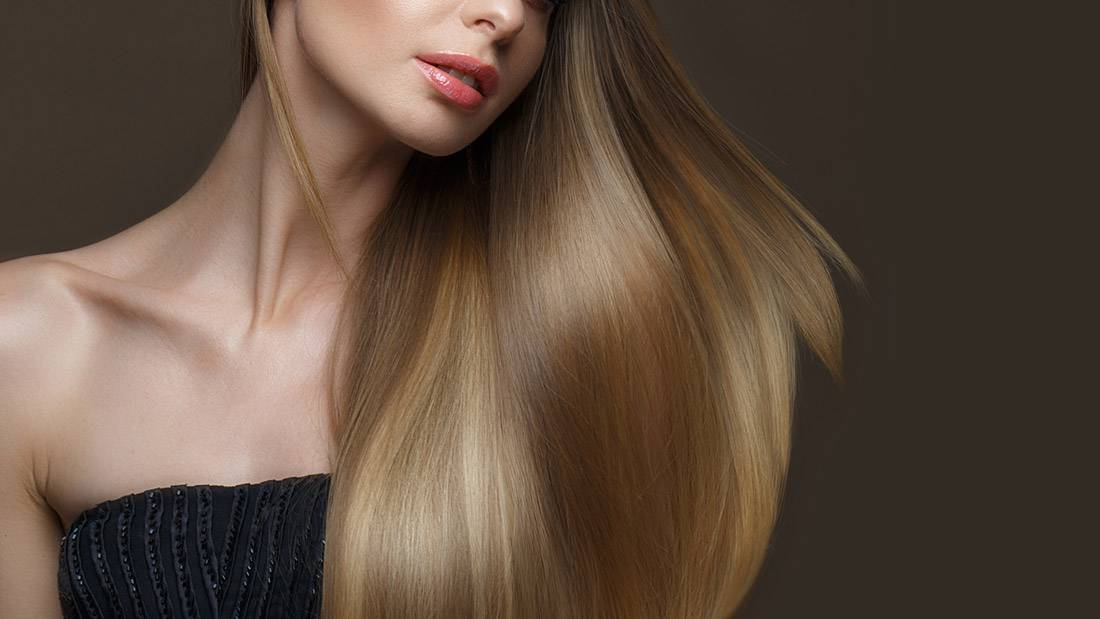 effective products for shine and smoothness of hair